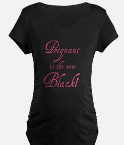 P is the new black maternity Maternity T-Shirt