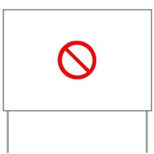 No Yard Sign