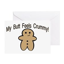 Crummy Butt Greeting Card