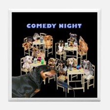 Comedy Tile Coaster