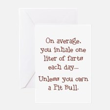 Unless... Brown Greeting Card