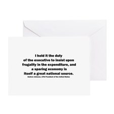Andrew Johnson Greeting Card