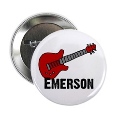 "Guitar - Emerson 2.25"" Button"