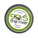 92.5 the River's Wall Clock