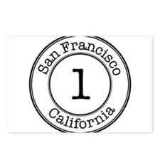 Circles 1 California - Postcards (Package of 8)