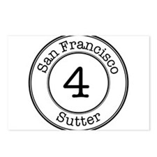 Circles 4 Sutter Postcards (Package of 8)