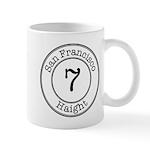 Circles 7 Haight Mug