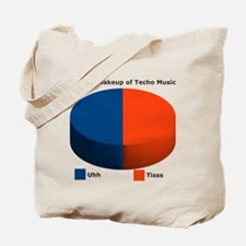Techno Music Tote Bag