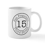 Circles 15 Third Street Mug
