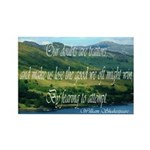 Inspirational Shakespeare Quote Rectangle Magnet (