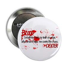 """Dexter Blood 2.25"""" Button"""