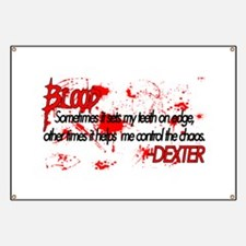 Dexter Blood Banner