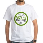 92.5 the River's White T-Shirt