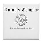 Knights Templar Saracen 2 Tile Coaster