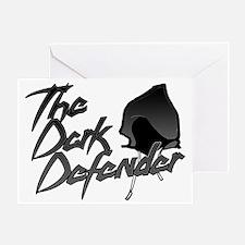 Dark Defender Greeting Card