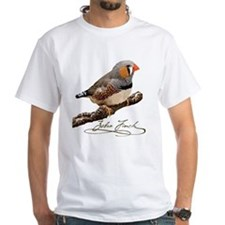 Zebra Finch T-Shirt - design front
