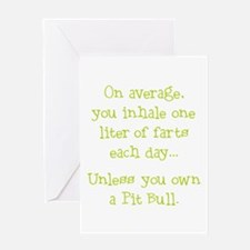 Unless... Lime Greeting Card