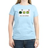 Peas lovin happiness Women's Light T-Shirt