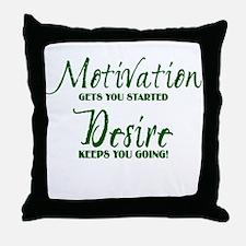 MOTIVATION (1) Throw Pillow