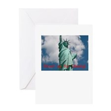 Stand up for Liberty! Greeting Card