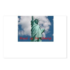 Stand up for Liberty! Postcards (Package of 8)