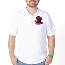 chocolate lover lab T-Shirt