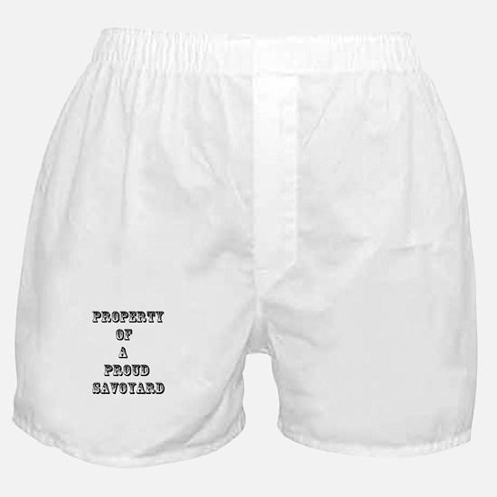 SAVOYARD Boxer Shorts