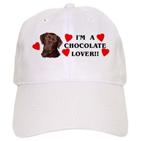 chocolate lab lover Cap