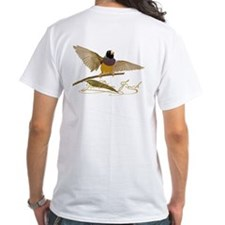 Gouldian Finch T-Shirt - design back
