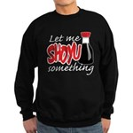 Let Me Shoyu Something Sweatshirt (dark)