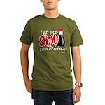 Let Me Shoyu Something Organic Men's T-Shirt (dark