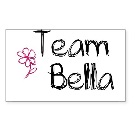 Team Bella Rectangle Sticker