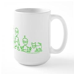 ILYAlienFamily Mug