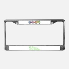 ILYAlienFamily License Plate Frame