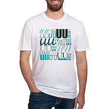 UU Typography (Aqua) Shirt