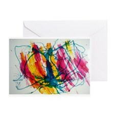 Medusa - Ink Air Water Gravity Greeting Cards (Pac