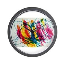 Medusa - Ink Air Water Gravity Wall Clock