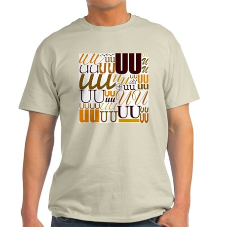 UU Typography (Autumn) Light T-Shirt