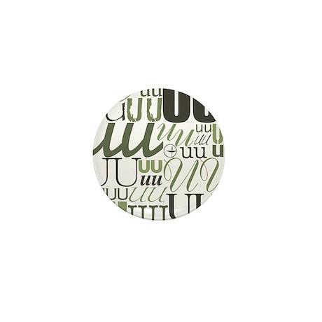 UU Typography (Sage) Mini Button (10 pack)