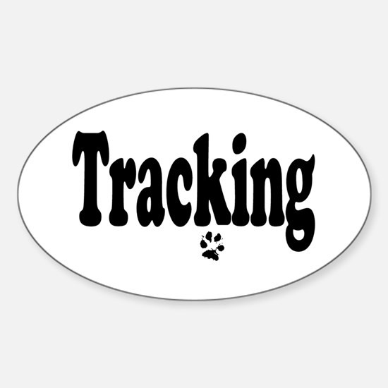 Tracking Oval Decal