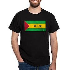 Sao Tomé and Príncipe Flag T-Shirt