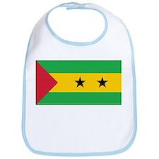 Sao Tomé and Príncipe Flag Bib