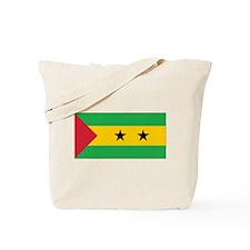 Sao Tomé and Príncipe Flag Tote Bag