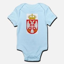 Serbia Coat Of Arms Infant Creeper