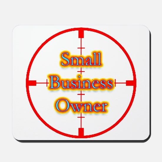 Small Business Owner in Cross Mousepad