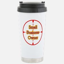 Small Business Owner in Cross Travel Mug