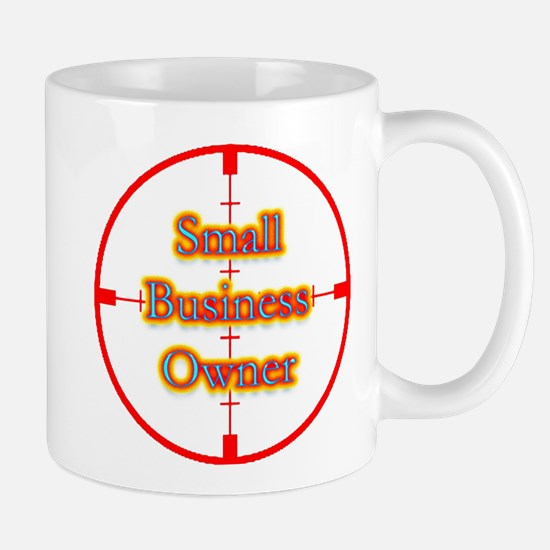 Small Business Owner in Cross Mug
