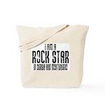 Rock Star In Serbia Tote Bag