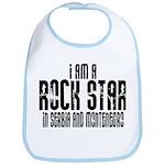 Rock Star In Serbia Bib