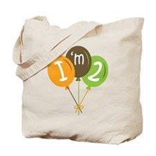 2nd Birthday Balloons Tote Bag